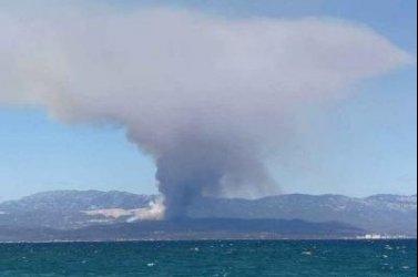 Δύο ενεργά μέτωπα φωτιάς στην Εύβοια