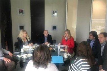 «Συνάντηση εργασίας στην Περιφερειακή Ενότητα Λακωνίας με θέμα τη ρύπανση του ποταμού Ευρώτα»