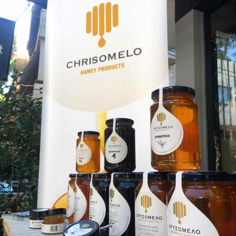 """Chrisomelo"": A tasting session which is dripping honey!"